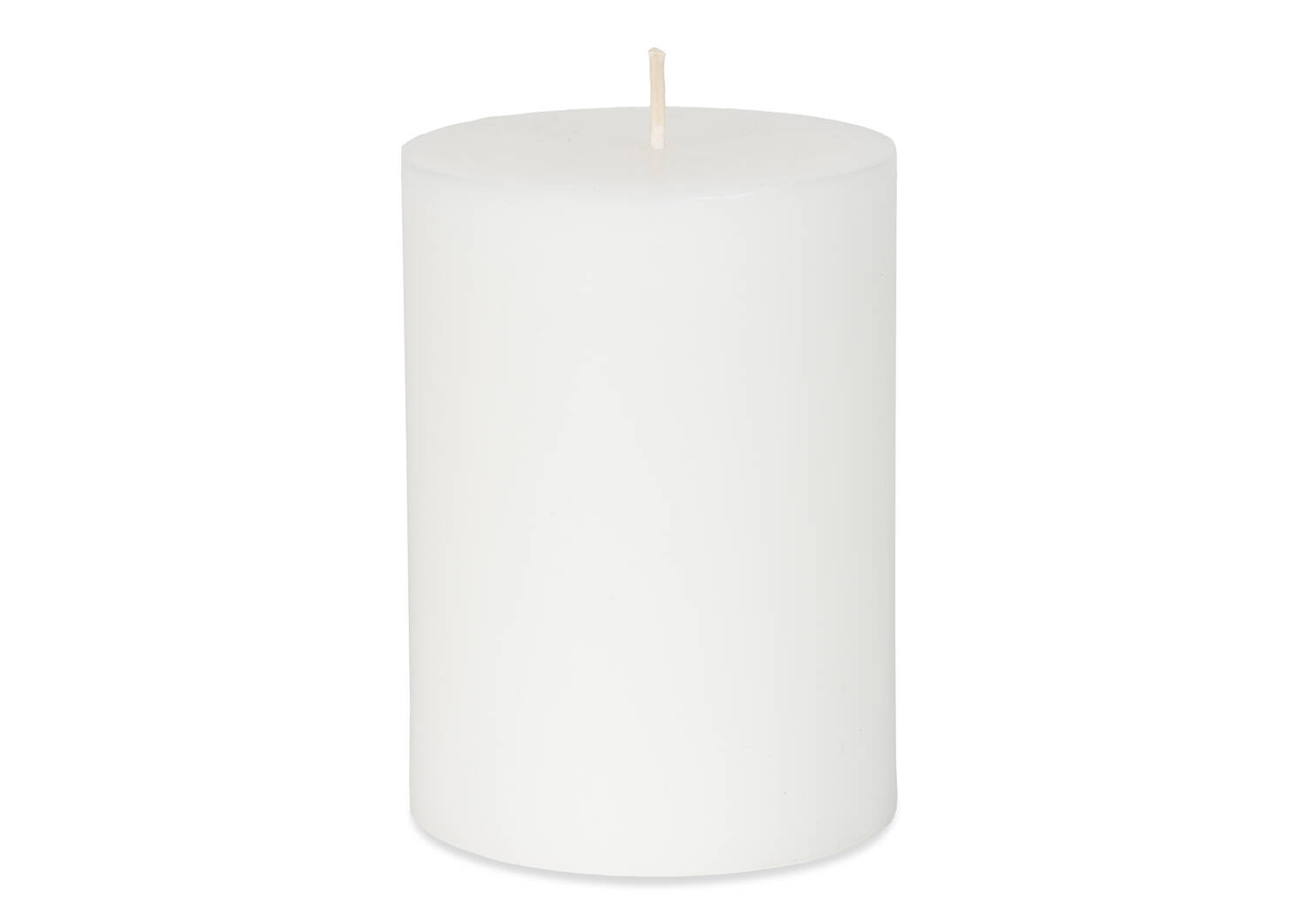 Cassa Candle 3x4 White Unscented