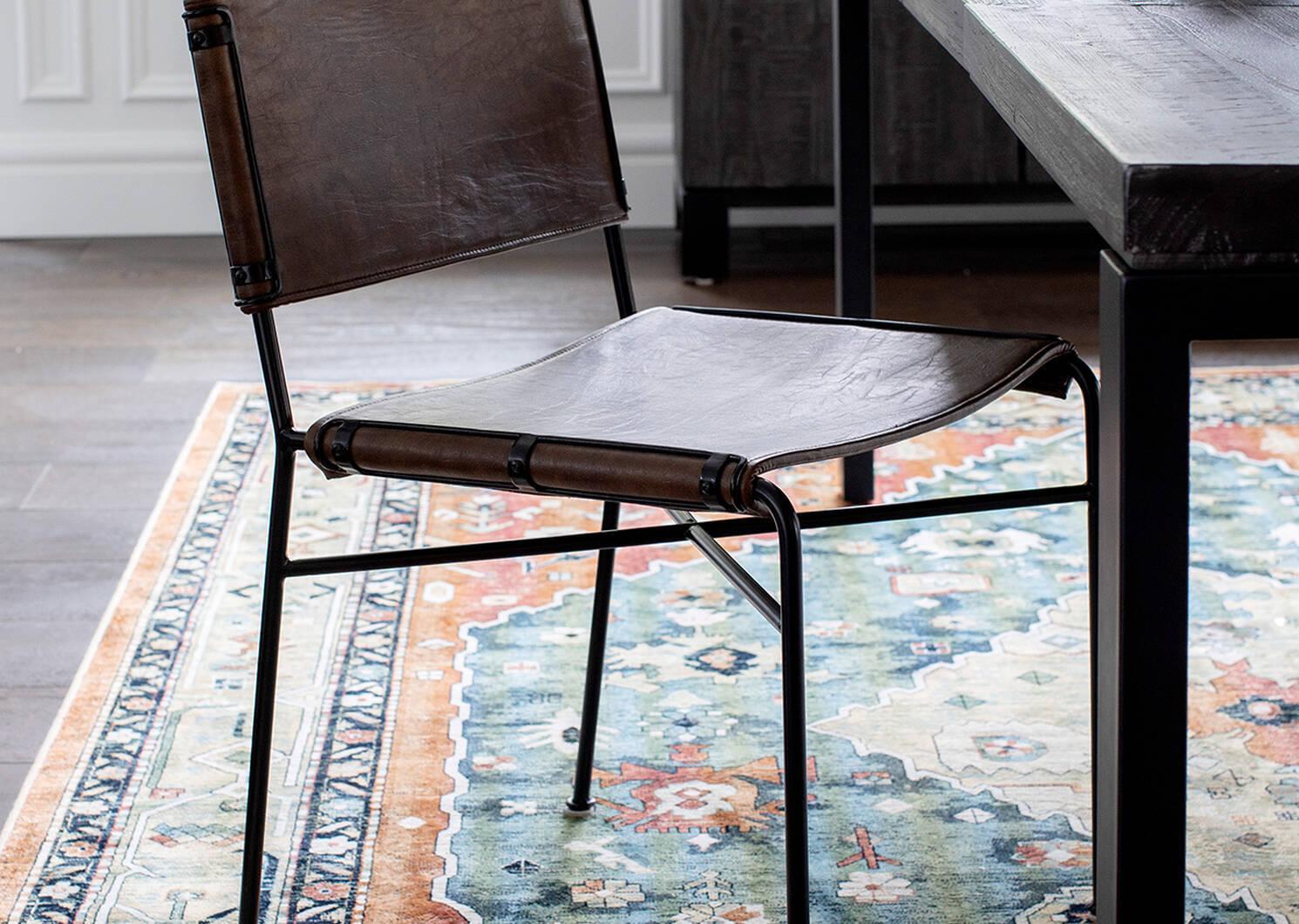 Chaise Emmory -brune