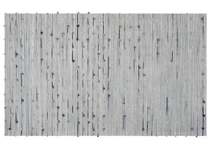 Tapis décoratif Avonlea 36x60 gris/bleu