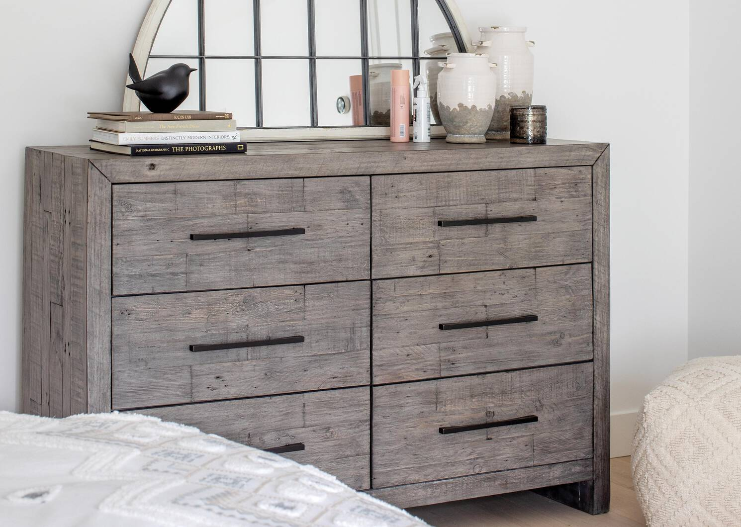 Woodland 6 Drawer Dresser -Stanton Ash