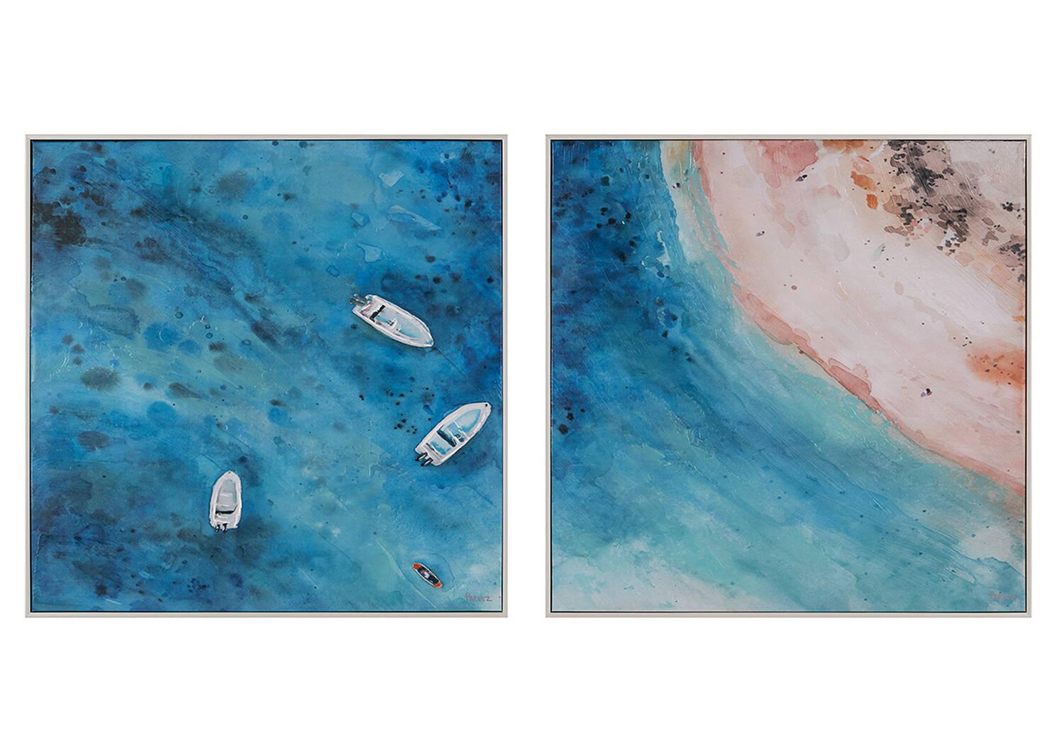 Coastal Retreat Wall Art Set