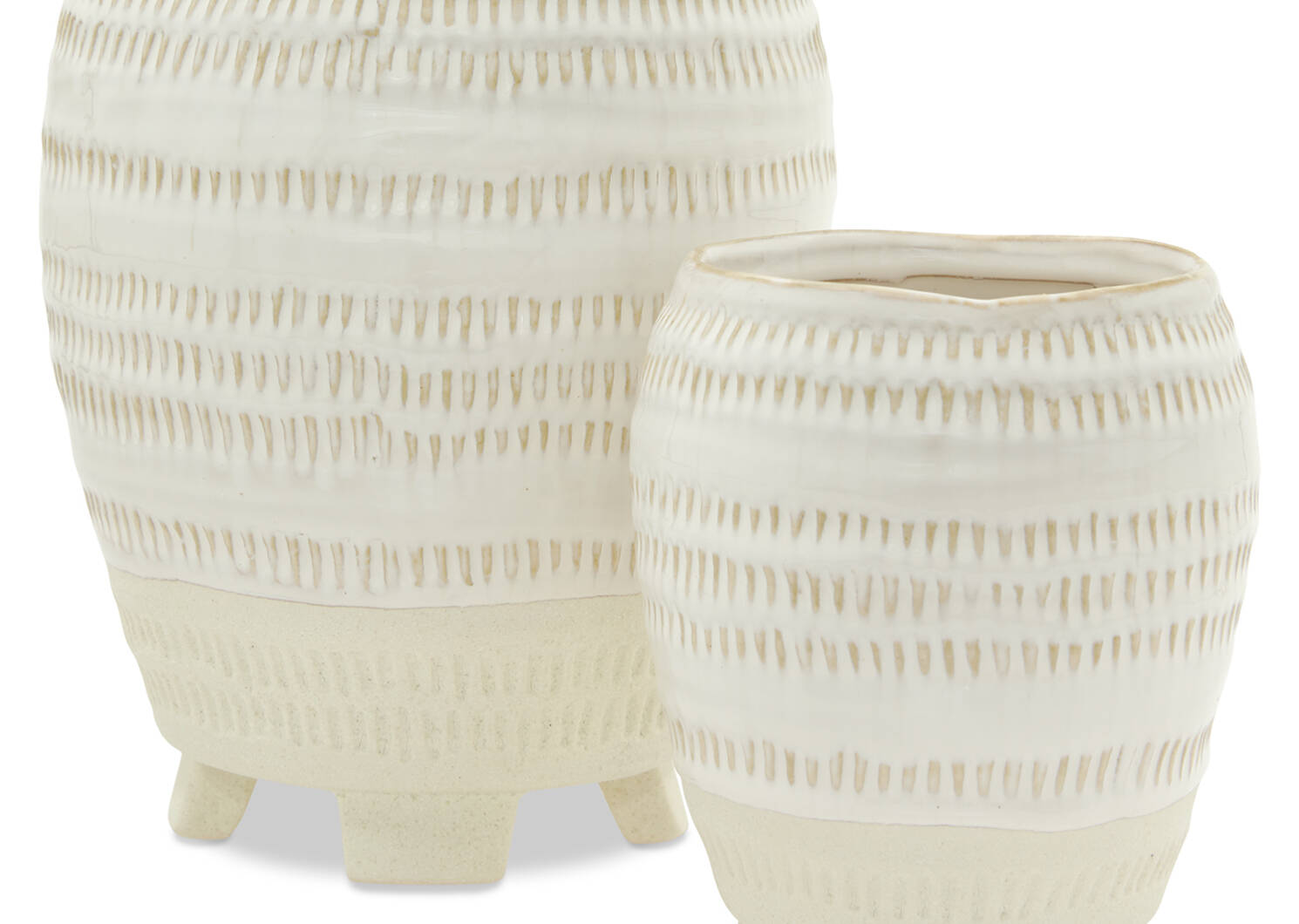 Rylee Planters - Ivory