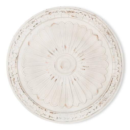 Nala Medallion Medium White
