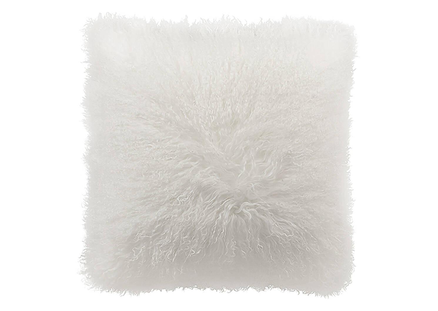 Mongolian Toss 20x20 White