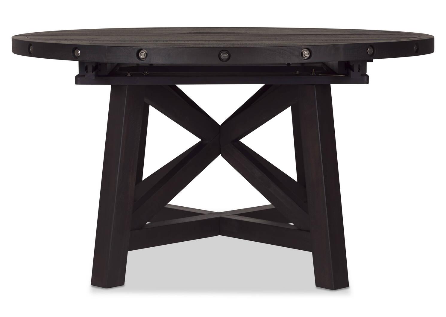 Table ronde rallonge Ironside -Khal café