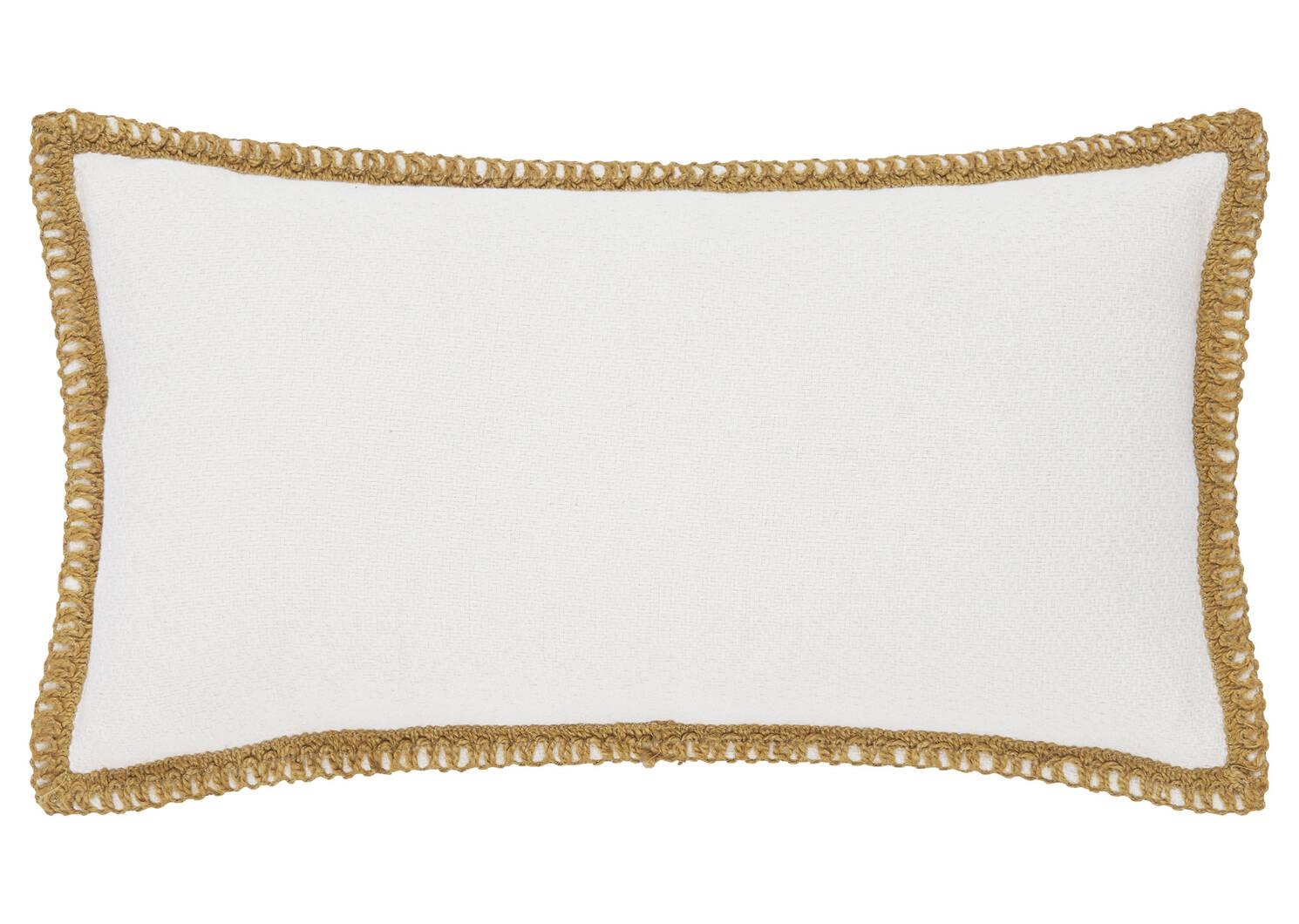 Veracruz Trim Toss 12x22 Ivory/Goldfi