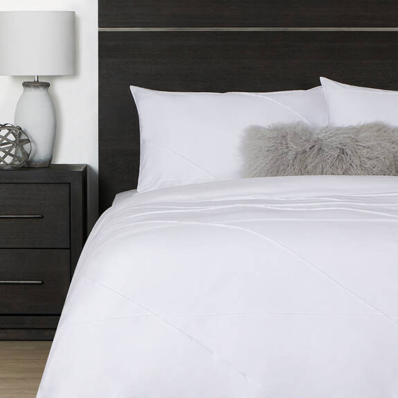 Blake Duvet Set - White