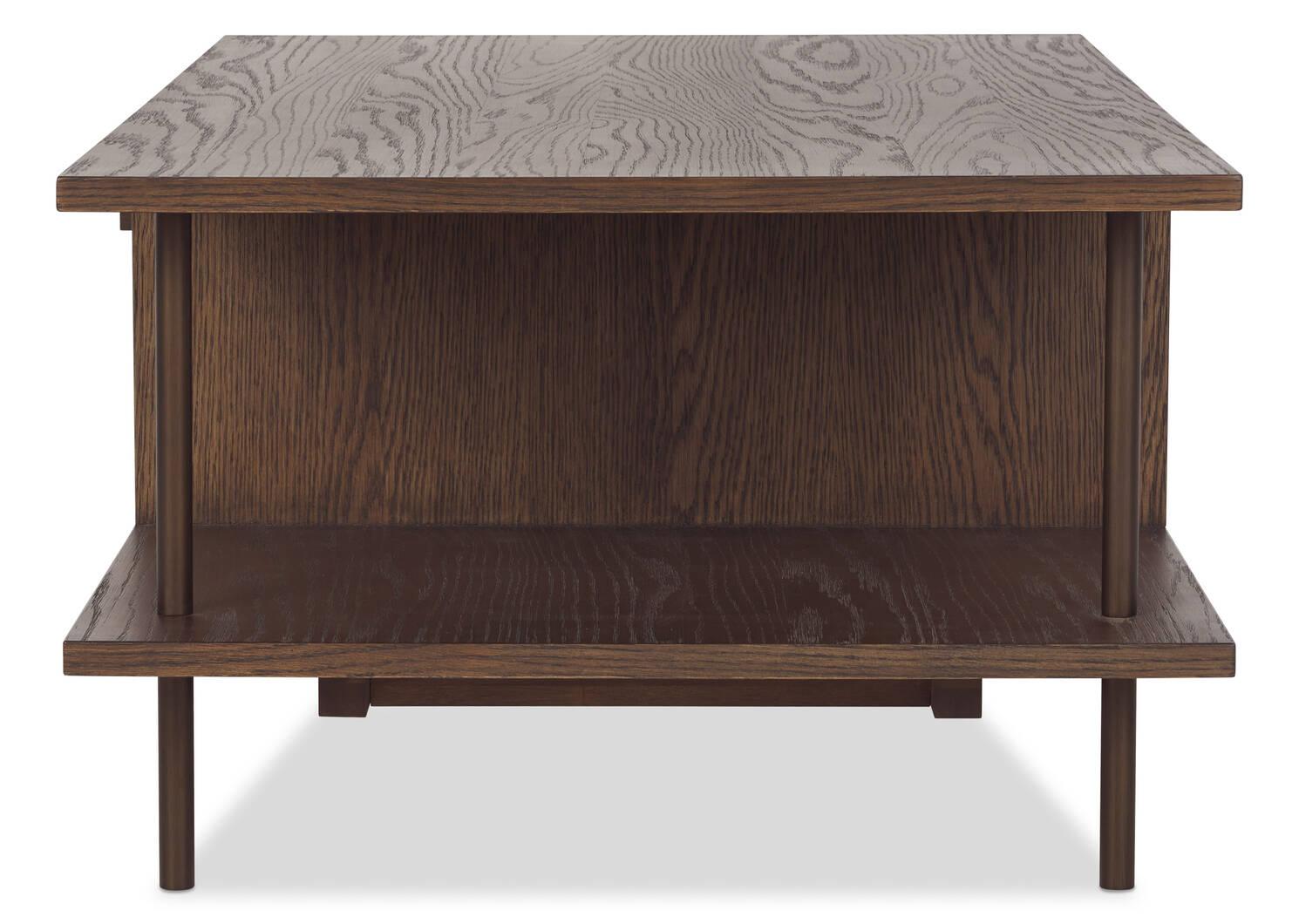 Berkeley Coffee Table -Novad Pecan