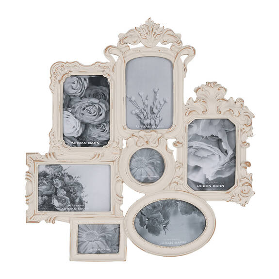 Allana Collage Frame Antique White