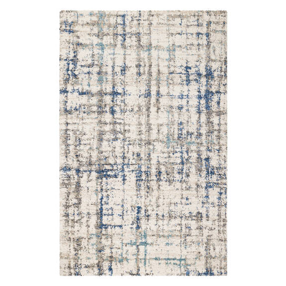 Cathers Rug - Cream/Blue