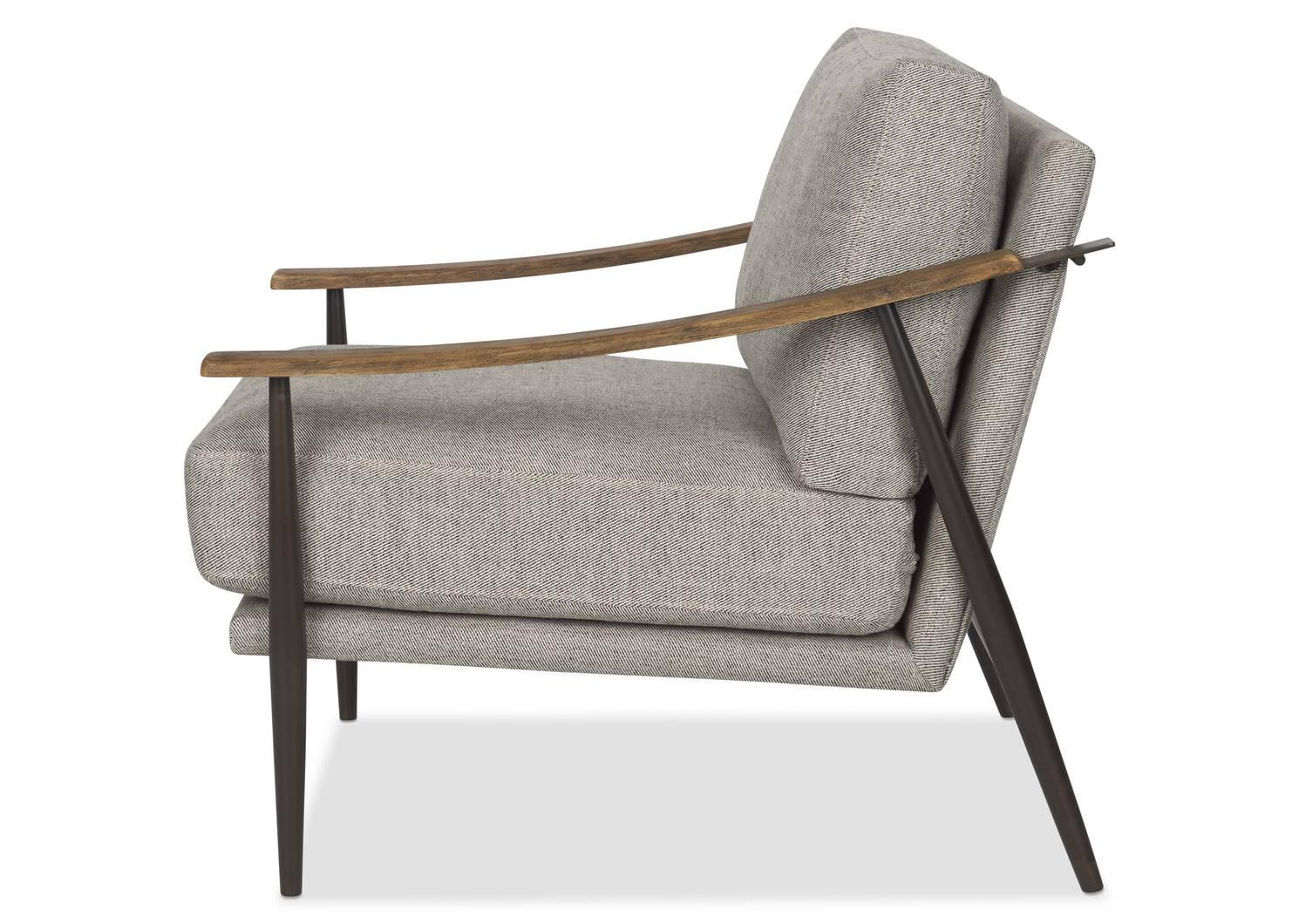 Rowe Armchair -Gabi Grey