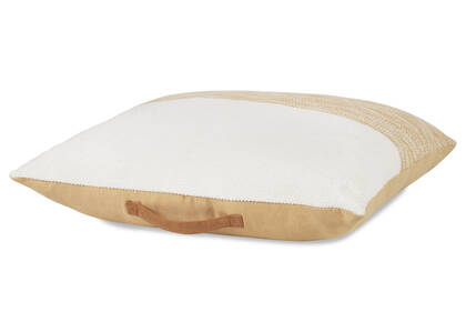 Wainwright Floor Cushion Natural/White