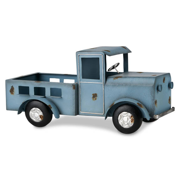 Cache-pot ancien pickup Olden