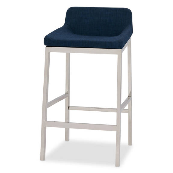 Lynd Counter Stool -Bond Blue