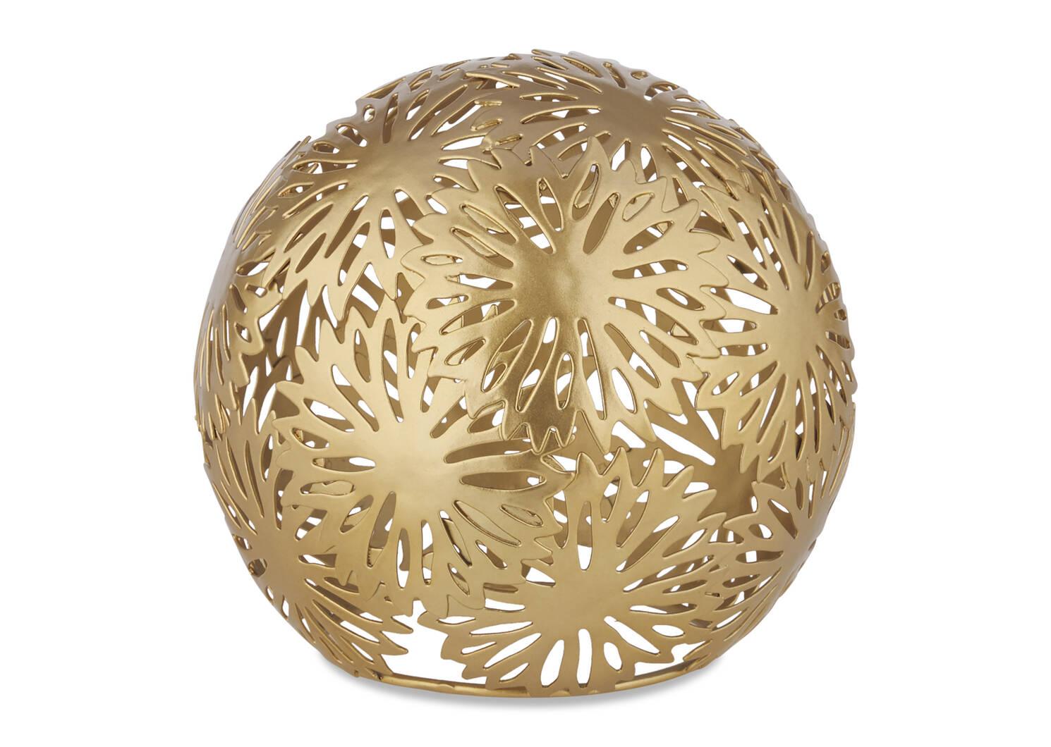 Boules décoratives Zinnia -laiton