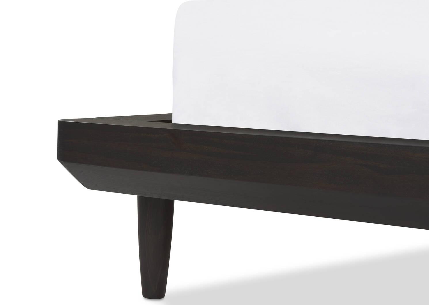 Luna Bed -Stone Cocoa, QUEEN