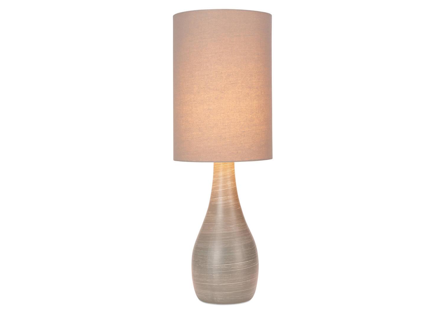 Lampe de table Naomie grise