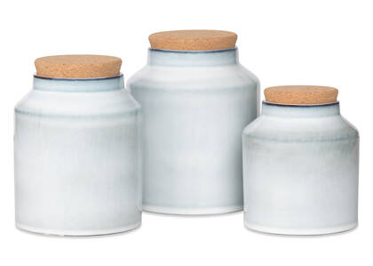 Alesund Canisters Light Blue