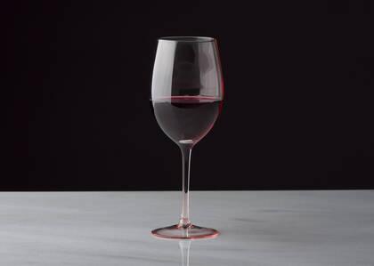 Georgette Wine Glass Pink