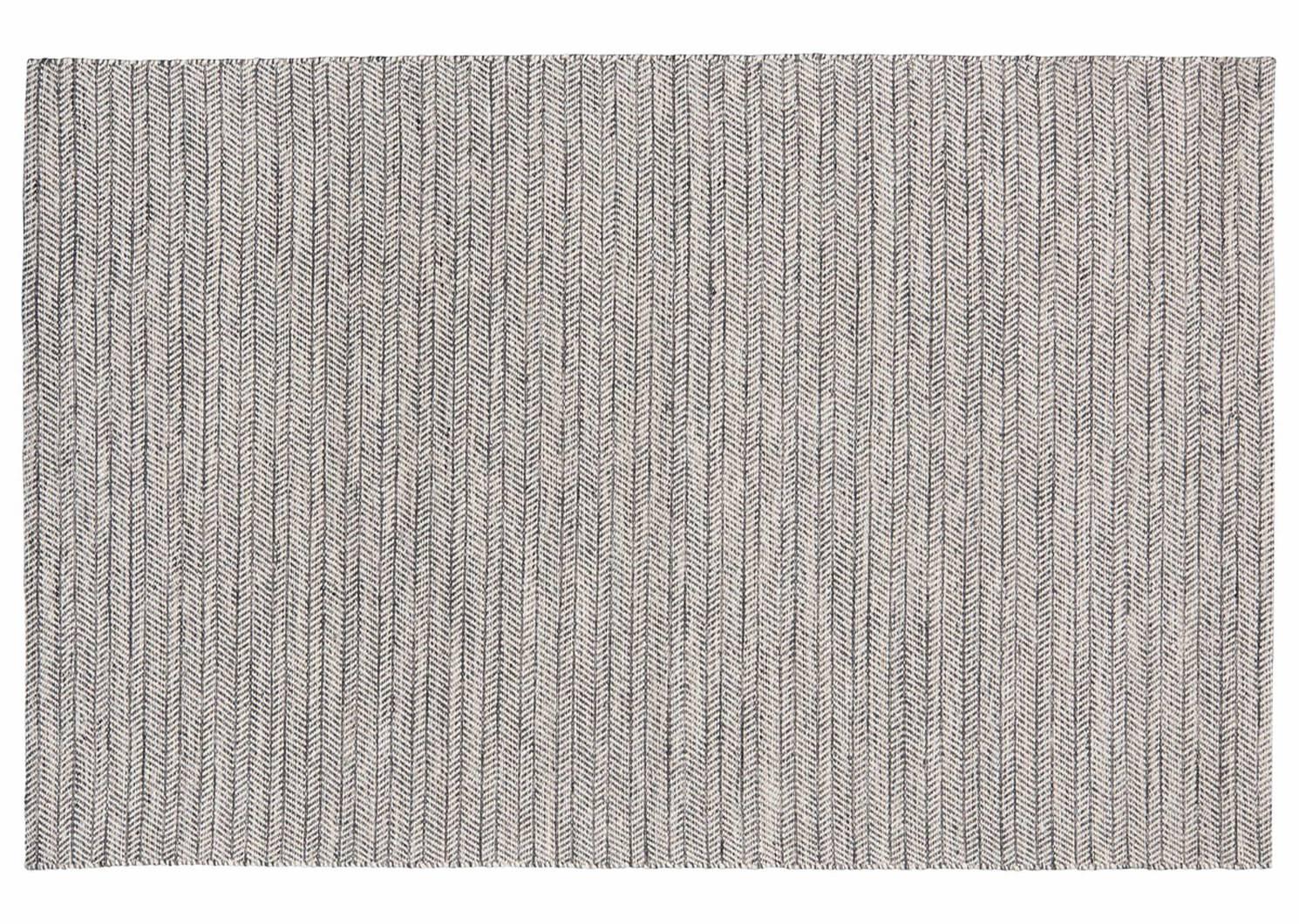 Grant Rug - Grey/White