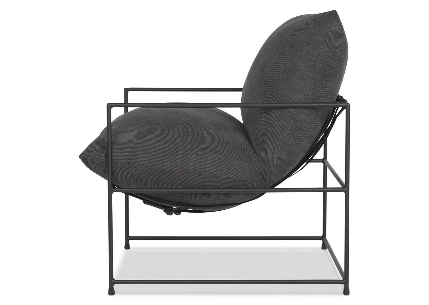 "Mondo Chair 28"" -Sorrento Graphite"