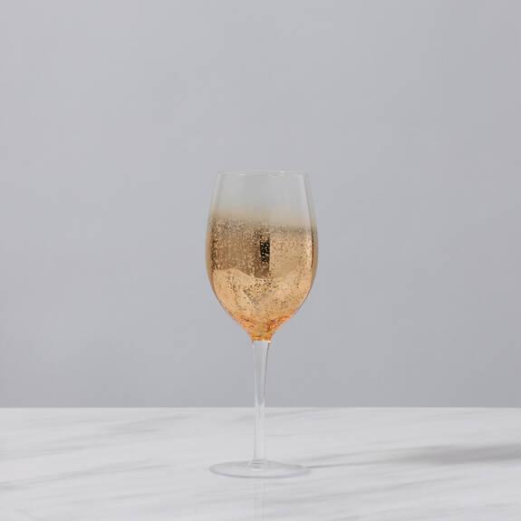 Verre à vin Shimmer doré