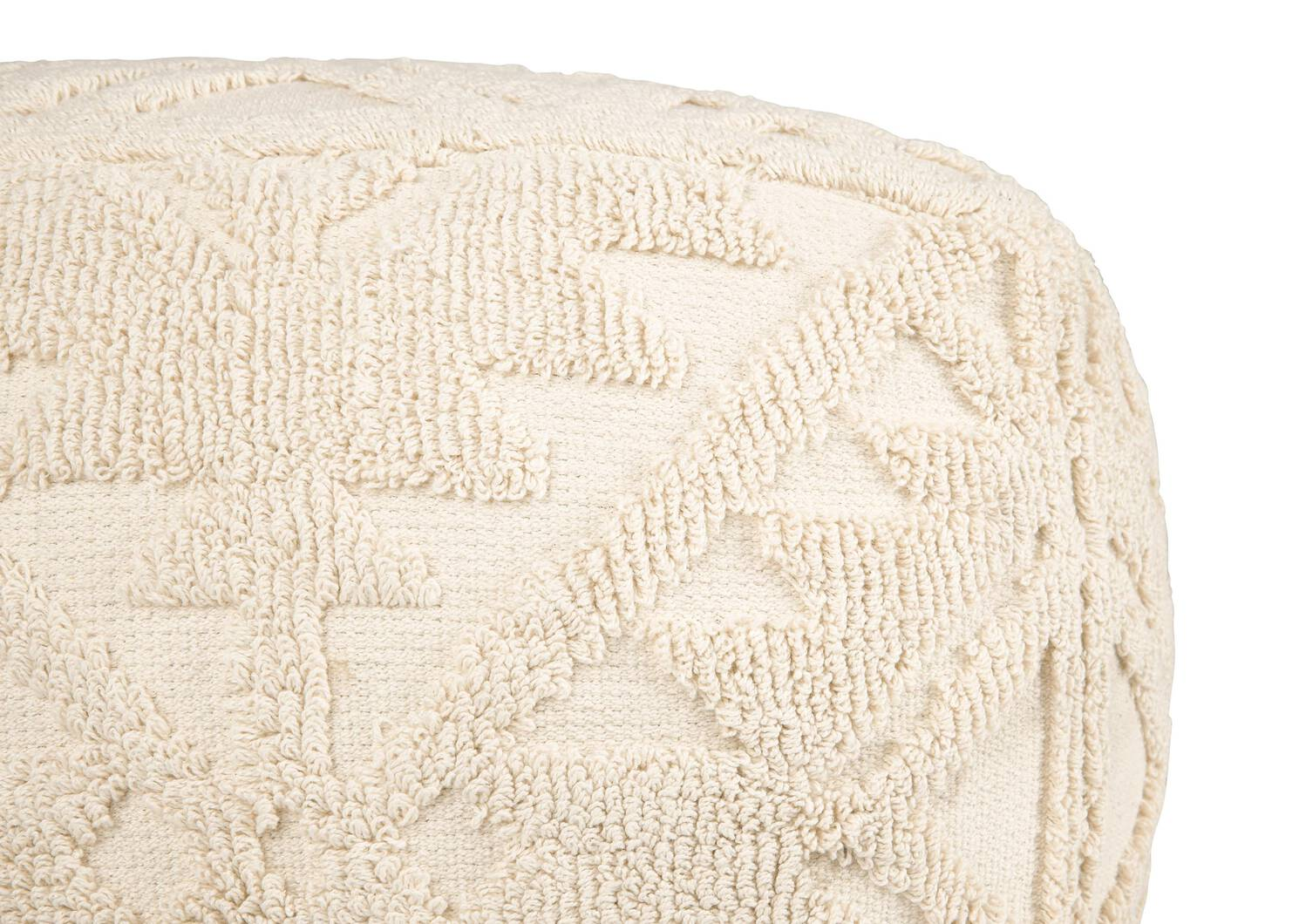 Pouf Anouk ivoire