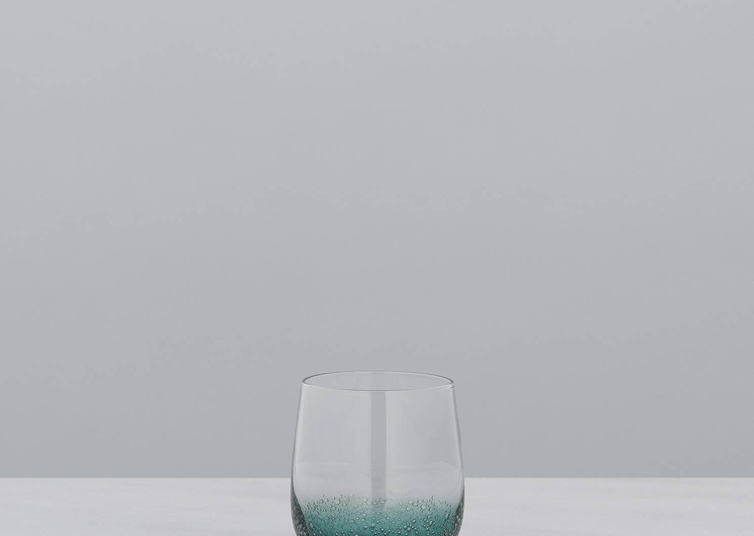Cascadia Glassware - Teal