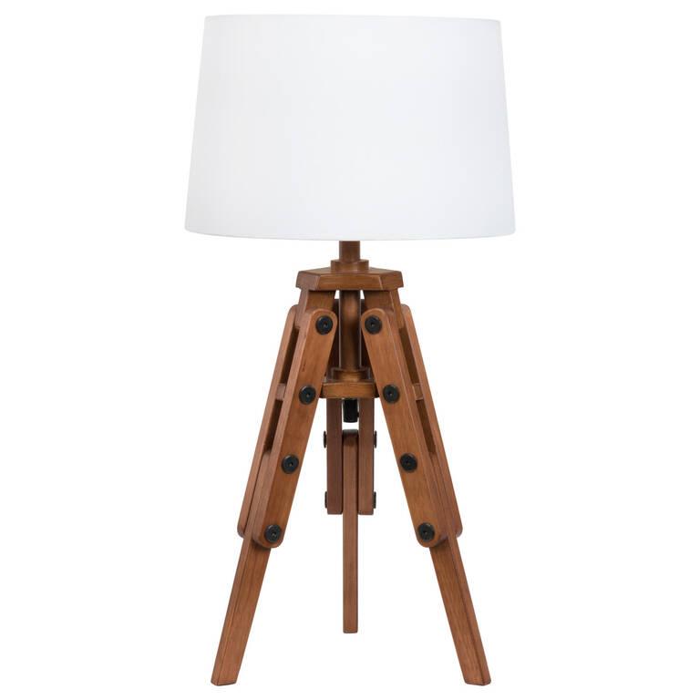 Lampe de table trépied Rideau