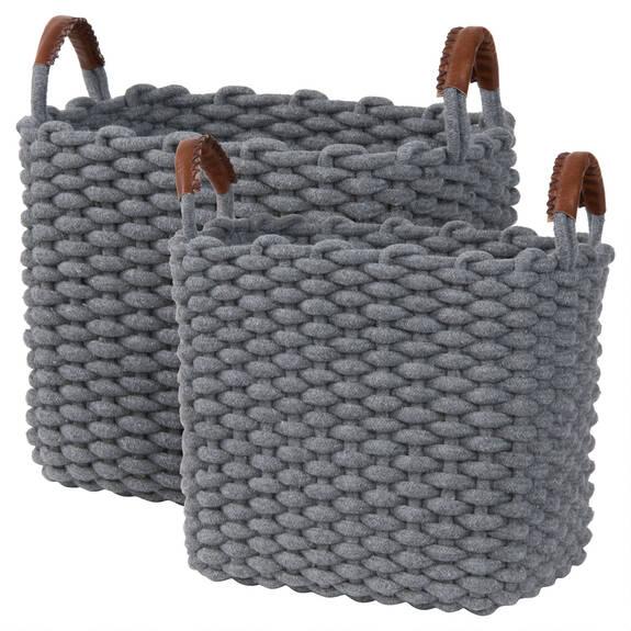 Corde Baskets - Grey