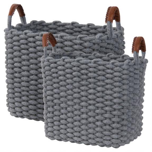 Corde Baskets - Grey