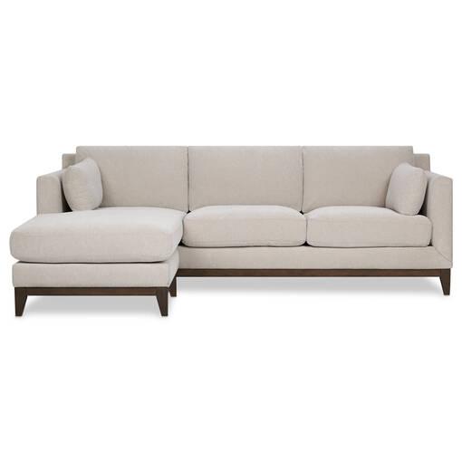 Ryerson Sofa Chaise -Rogen Stone