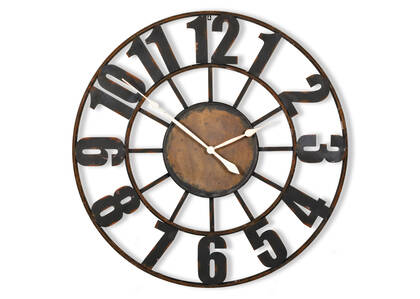 Old Station Wall Clock Large