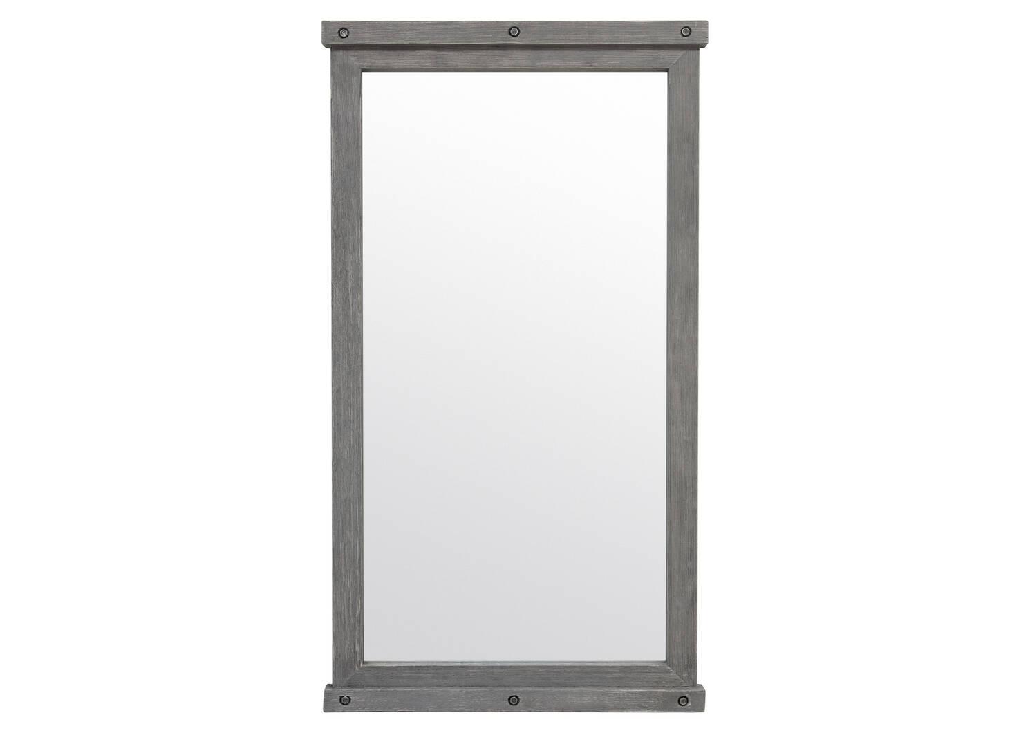 Miroir plein pied Valdes gris