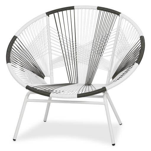 Porto Chair -White/Grey