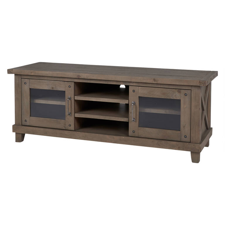 Ironside Entertainment Unit -Rustic Grey