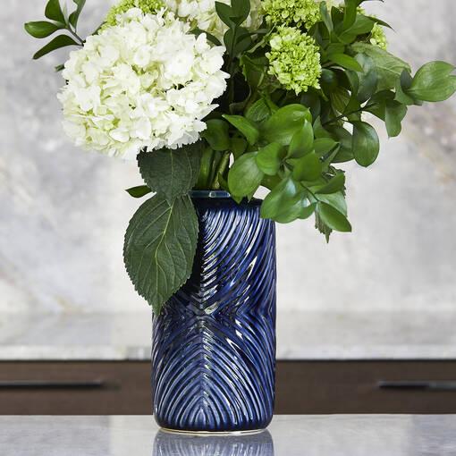 Jayden Vase Large Atlantic