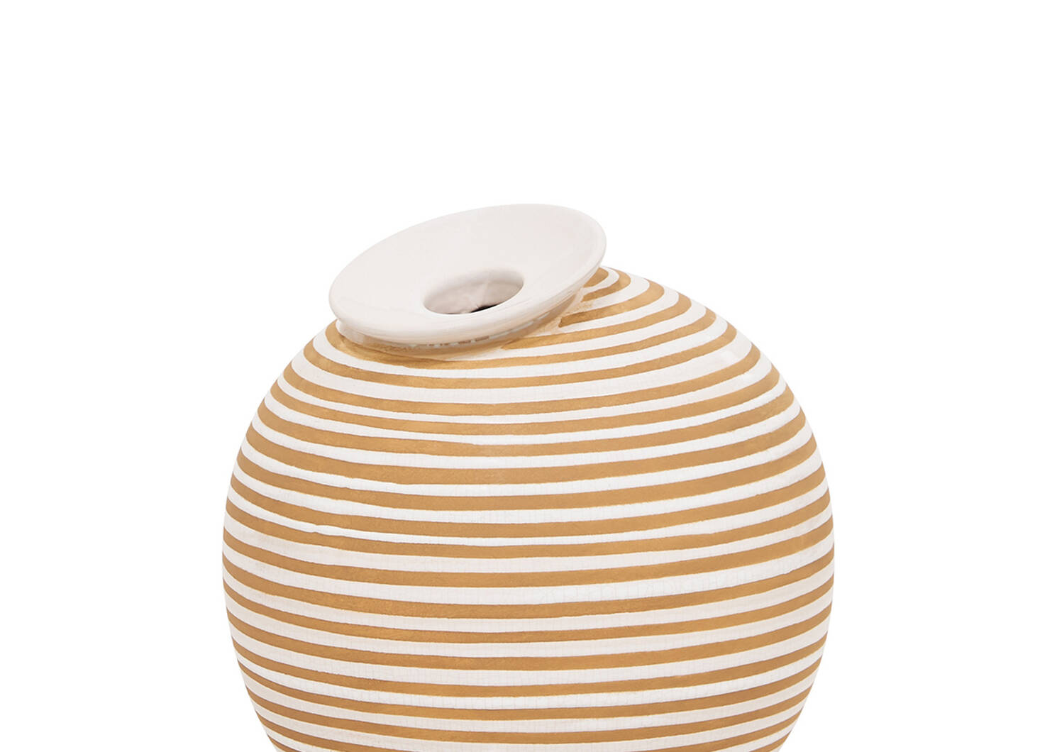 Maddy Vases - Savanna/White