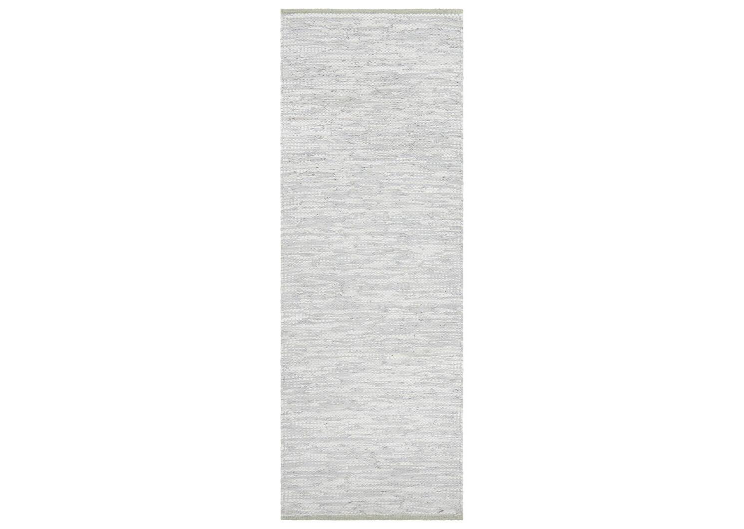 Tapis de couloir Patton 30x84 gris pâle
