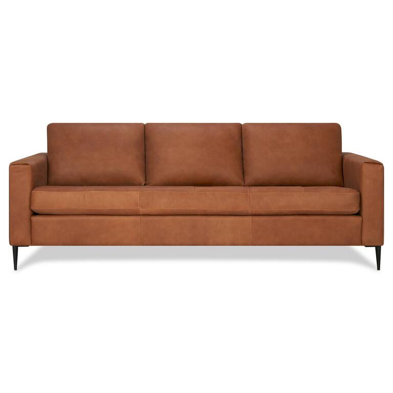 Surprising Lucca Leather Sofa Attica Cinnamon Alphanode Cool Chair Designs And Ideas Alphanodeonline