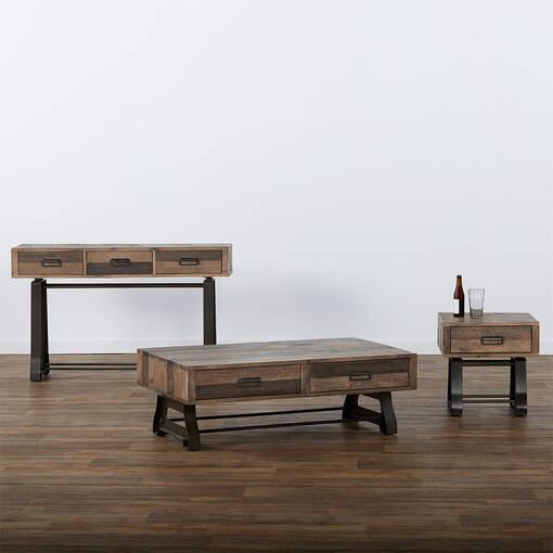 Distillery Coffee Table -Craft Pine