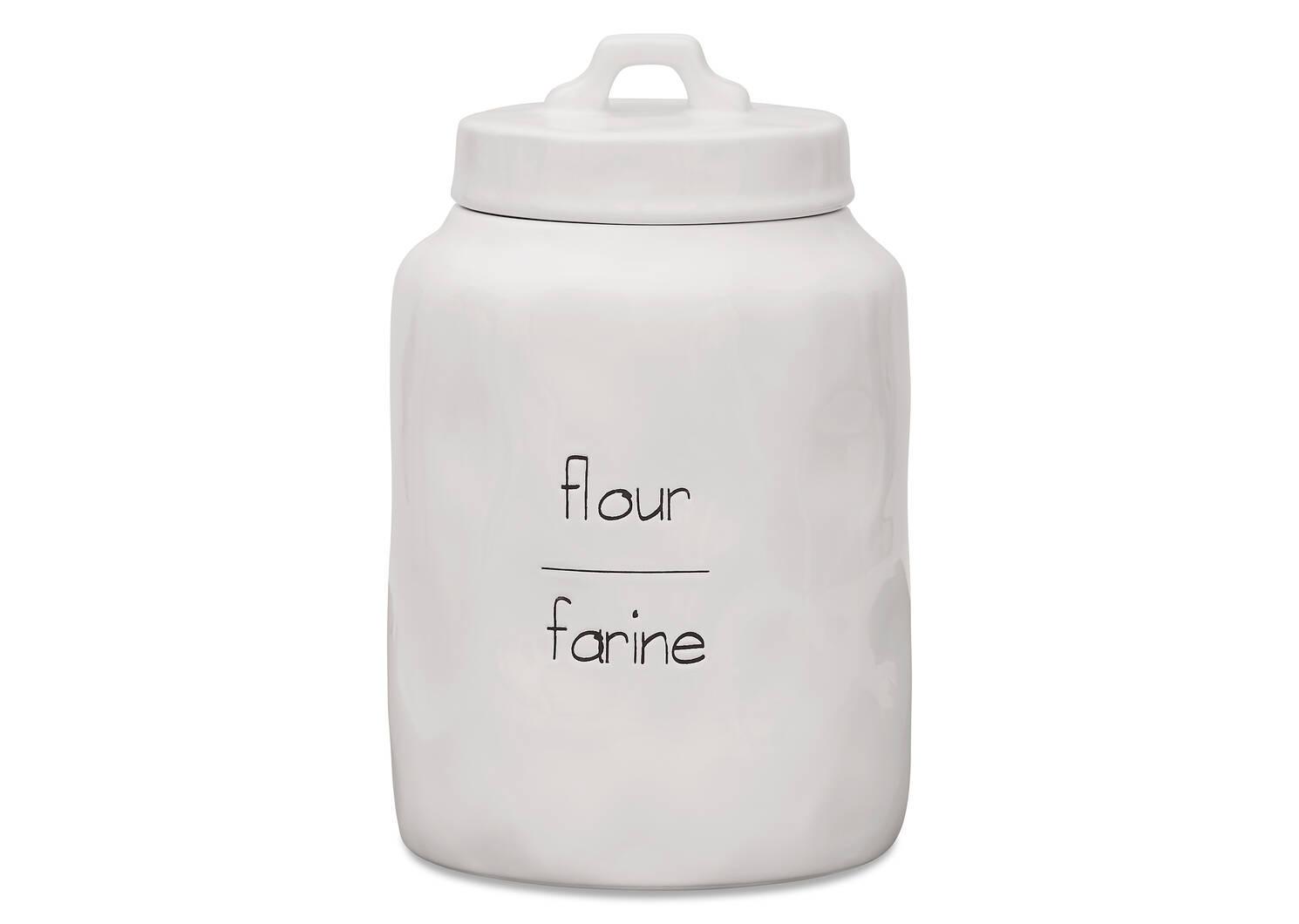 Demi Flour Canister
