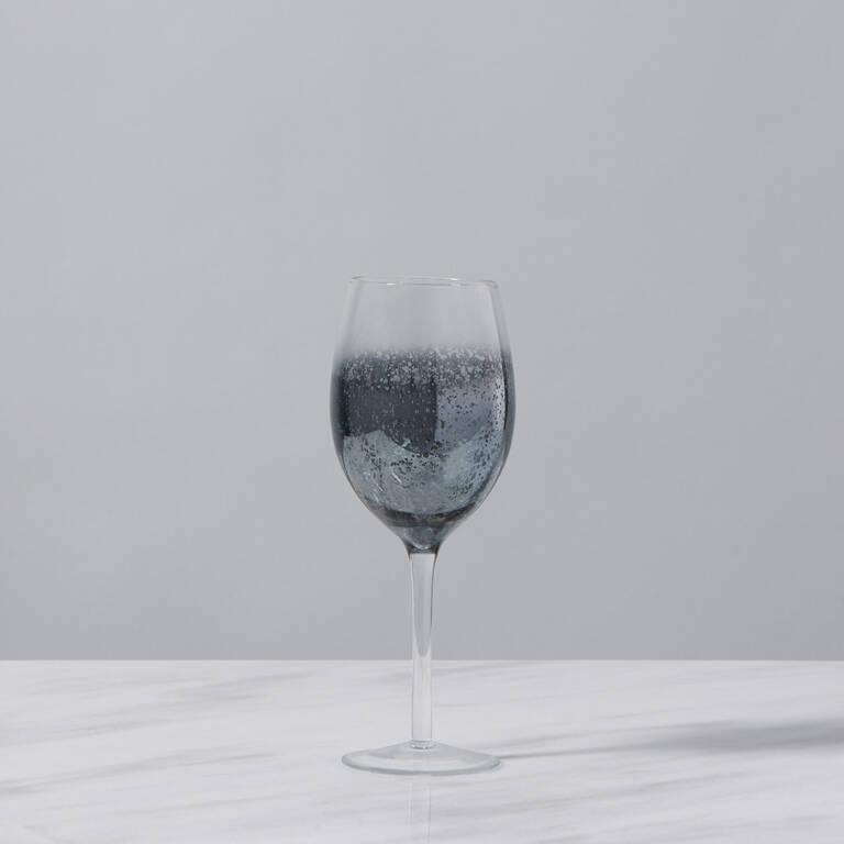 Verre à vin Shimmer gris argenté