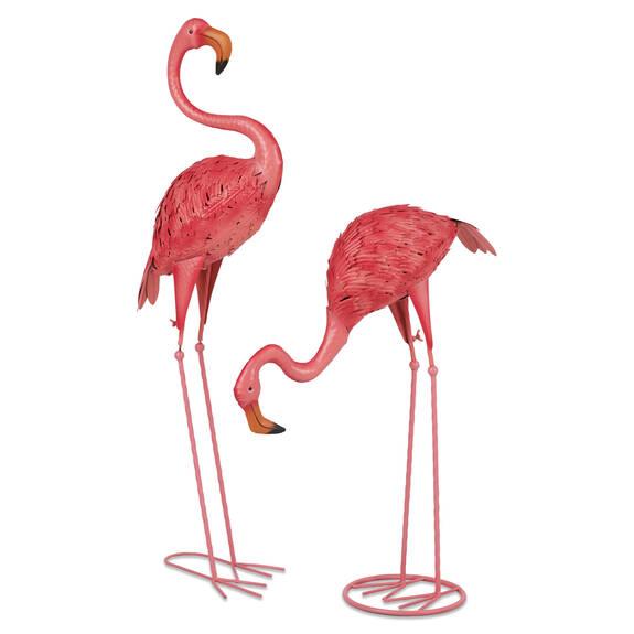 Faris Flamingo Garden Decor