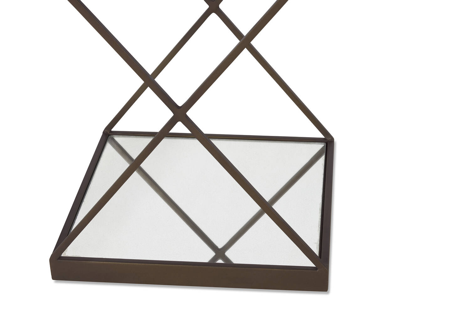 Table d'appoint Gaines -laiton
