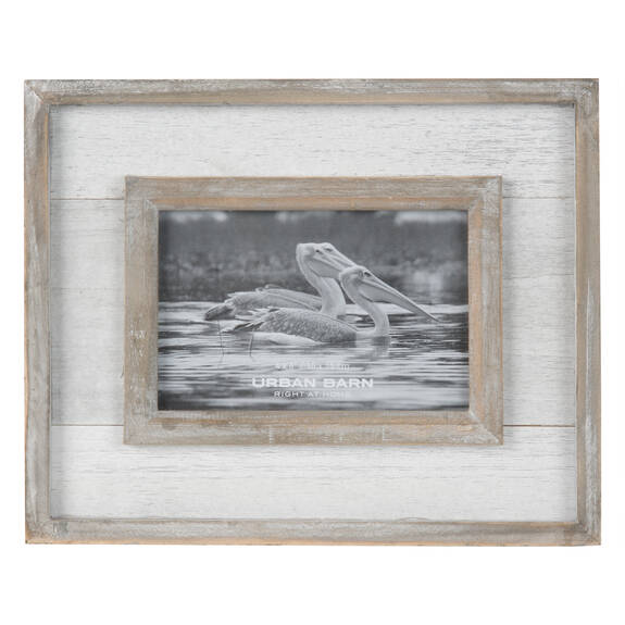 Ashworth Frame 4x6 Grey/White