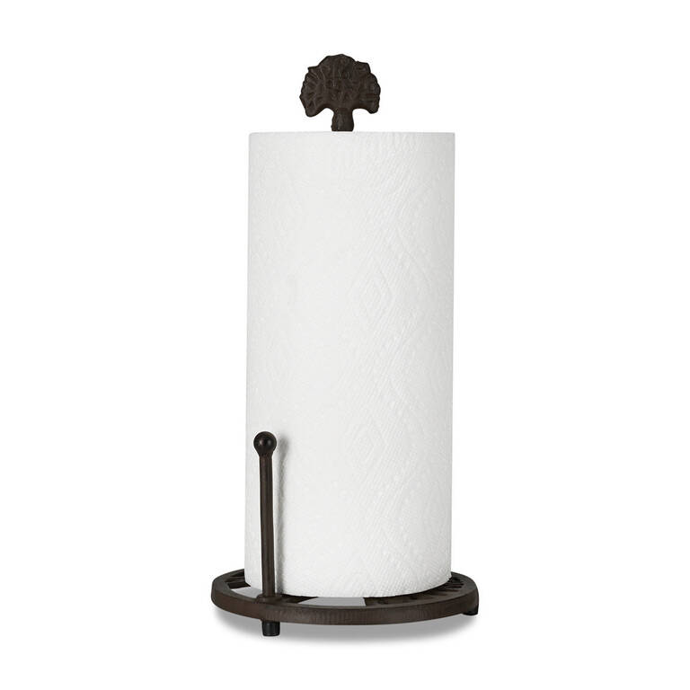 Grove Paper Towel Holder Iron