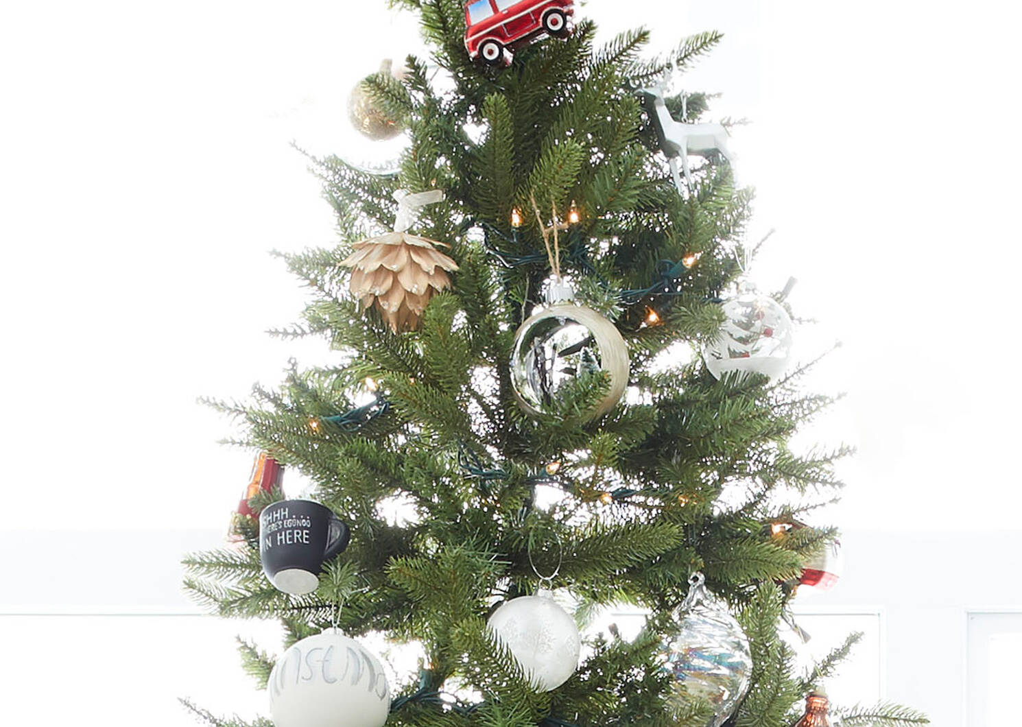 Holiday Racer Tree Orn Red