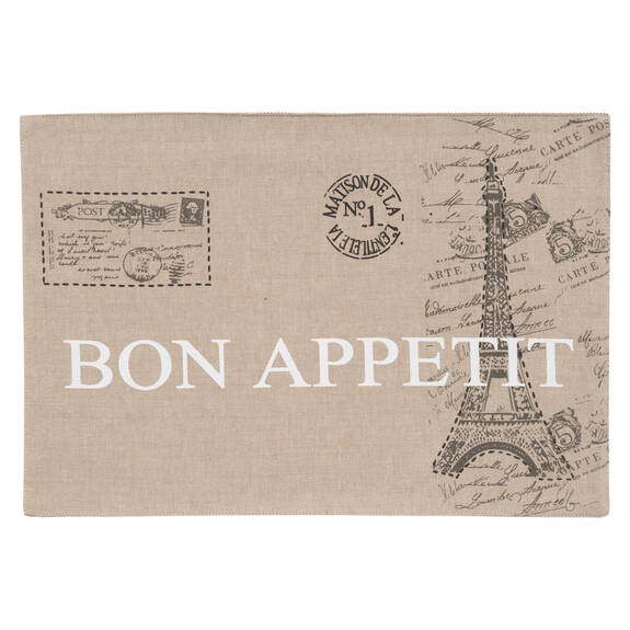 Napperon Bon appétit
