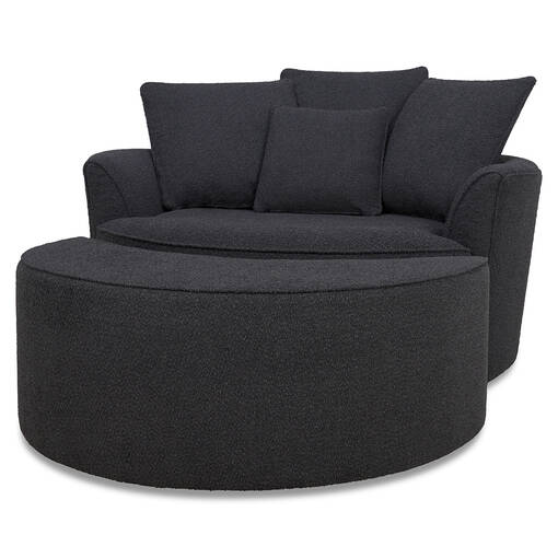 Nest Chair -Remi Charcoal